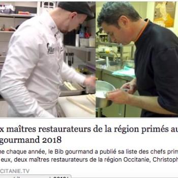 Deux maîtres restaurateurs de la région primés au Bib gourmand 2018